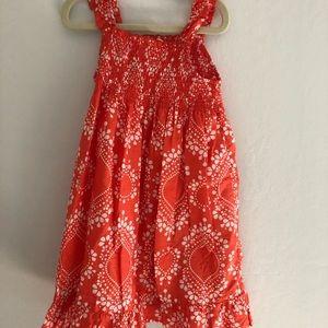 Carters size 5 maxi dress